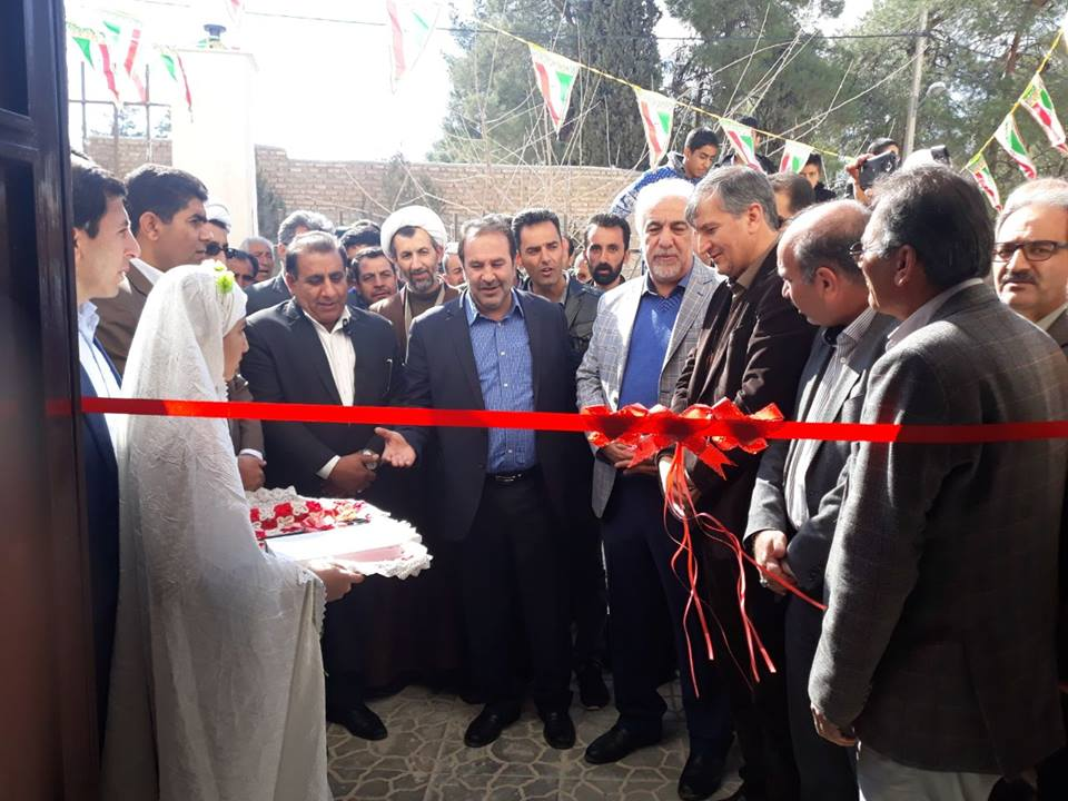 Opening of Sivand Multipurpose Sports Hall in Fars province, from co-sponsored projects on February 9, 2018