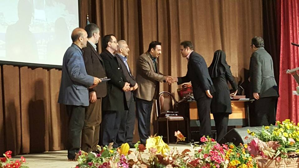 مراسم اهداء لوح و جوایز برگزیدگان مسابقه طراحی ساختمان ستاد اداری دانشگاه علوم پزشکی و خدمات بهداشتی درمانی کردستان