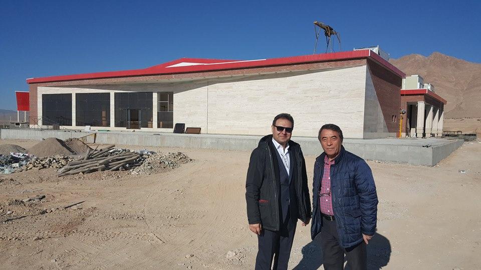 بازدید آقای مهندس رحیمیان، مدیر عامل شرکت از پروژه سالن ورزشی چند منظوره پردیس مهندسی و فناوری های نوین دانشگاه صنعتی شاهرود در تاریخ ۹۶/۱۱/۱۴
