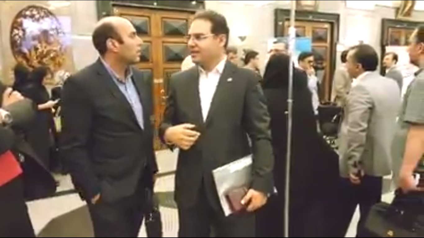 Conference hall of the Islamic Republic of Iran Broadcasting. May 5, 2018