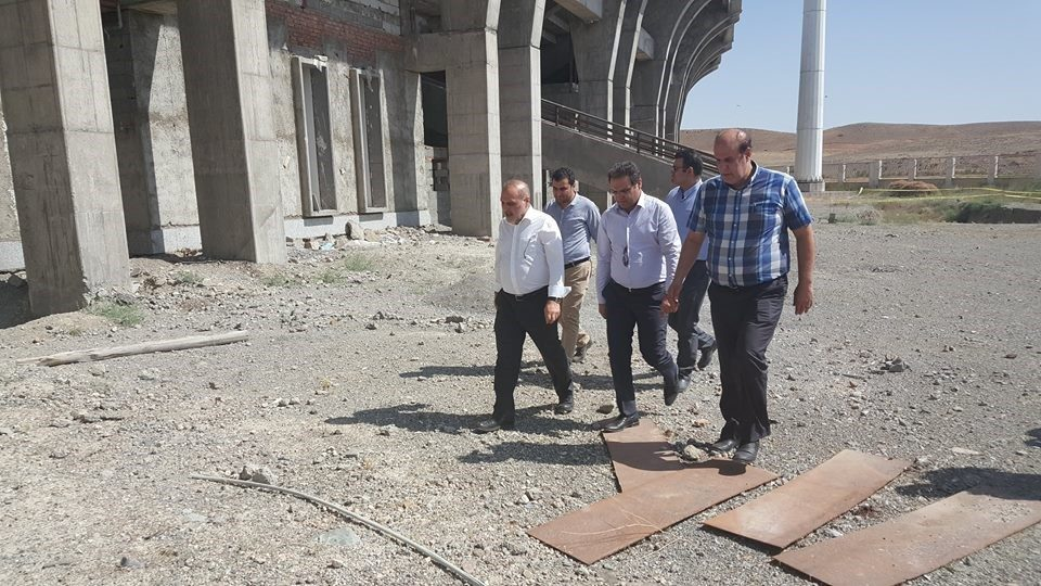 Visit of the Minister of Sport and Youth of West Azarbaijan sporting projects