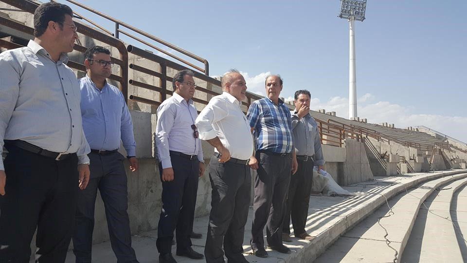 بازدید وزیر محترم ورزش و جوانان از پروژه های ورزشی استان آذربایجان غربی