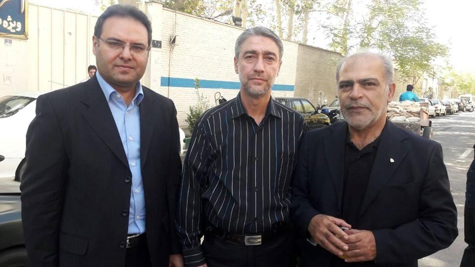 مراسم وداع با پیکر جانباز سرافراز بهمن گلبار نژاد، دوچرخه سوار پارالمپیکی کشور