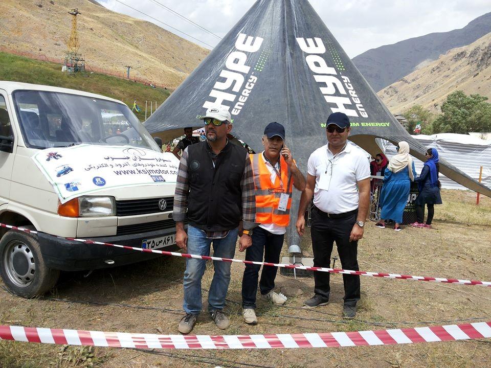 اختتامیه مسابقات بین المللی اسکی روی چمن، نخستین مسابقات خودروهای چهارچرخ آفرود