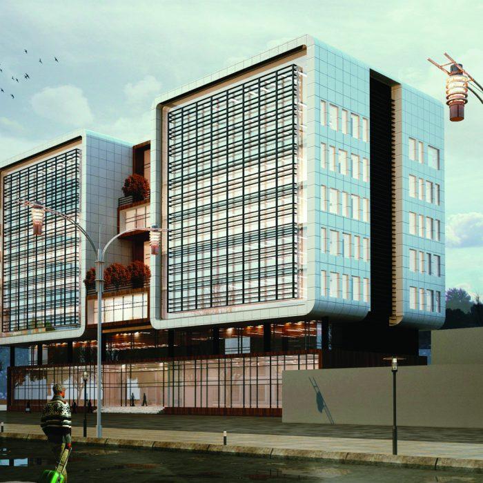 ساختمان اداری معاونت بهداشت دانشگاه علوم پزشکی مازندران
