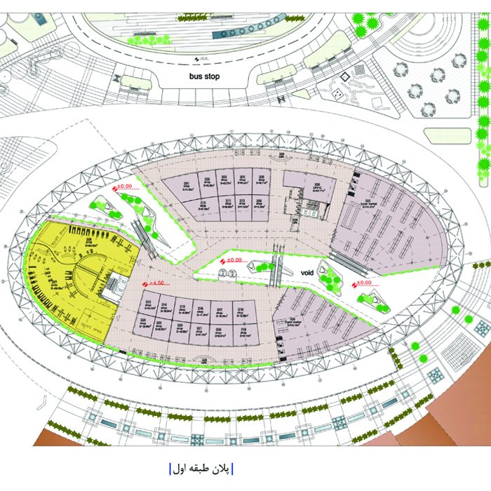 Commercial, leisure complex of Galaxy Center Abadan