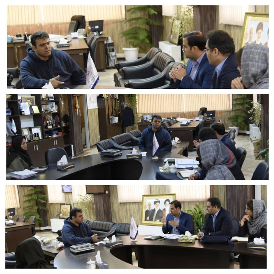 meeting on the development projects of the Sports and Youth Department of the Alborz province