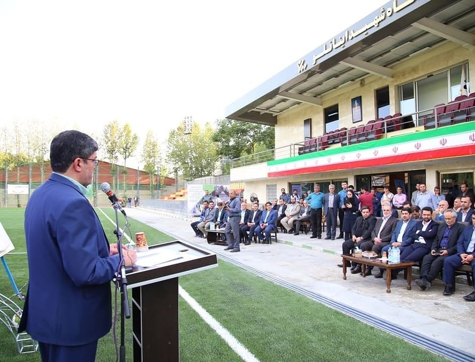 Opening of the Football Club Stadium Project, affiliated with the Ministry of Communications and Information Technology, with the presence of the Ministry of the Interior