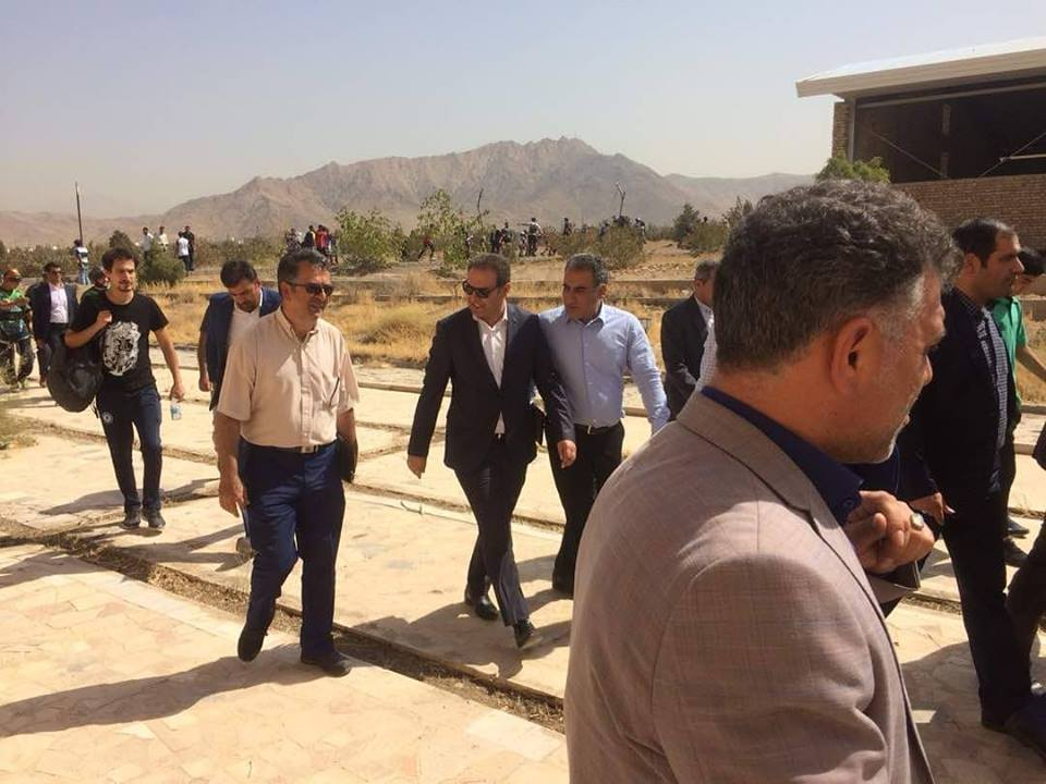 Opening of class projects of sacrifice and road health of Takhti Sport Complex in Tehran and Nezam Abad classroom in Tehran
