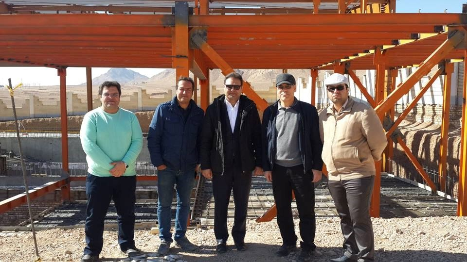 Visit of Mr. Rahimian, Managing Director of Isar Shahrood Pool Sports Pool Complex on 3/2/2018