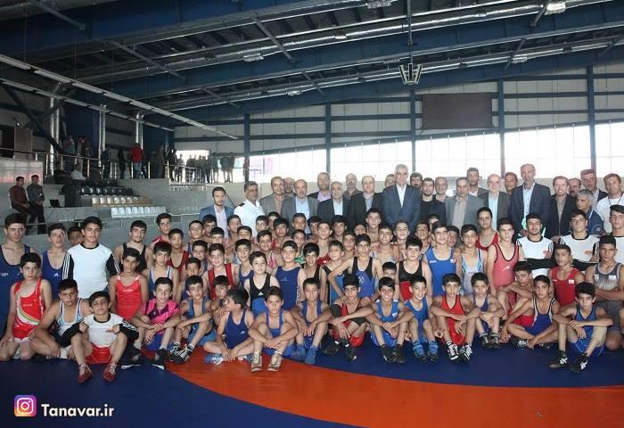 Shiraz Wrestling house