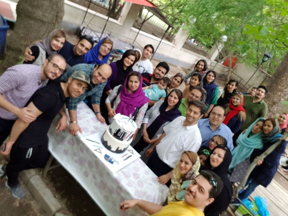 The Celebration of the seventh anniversary of the establishment of the company with the participation of the headquarters of the headquarters in the Barghan district of Karaj, 12/05/2017