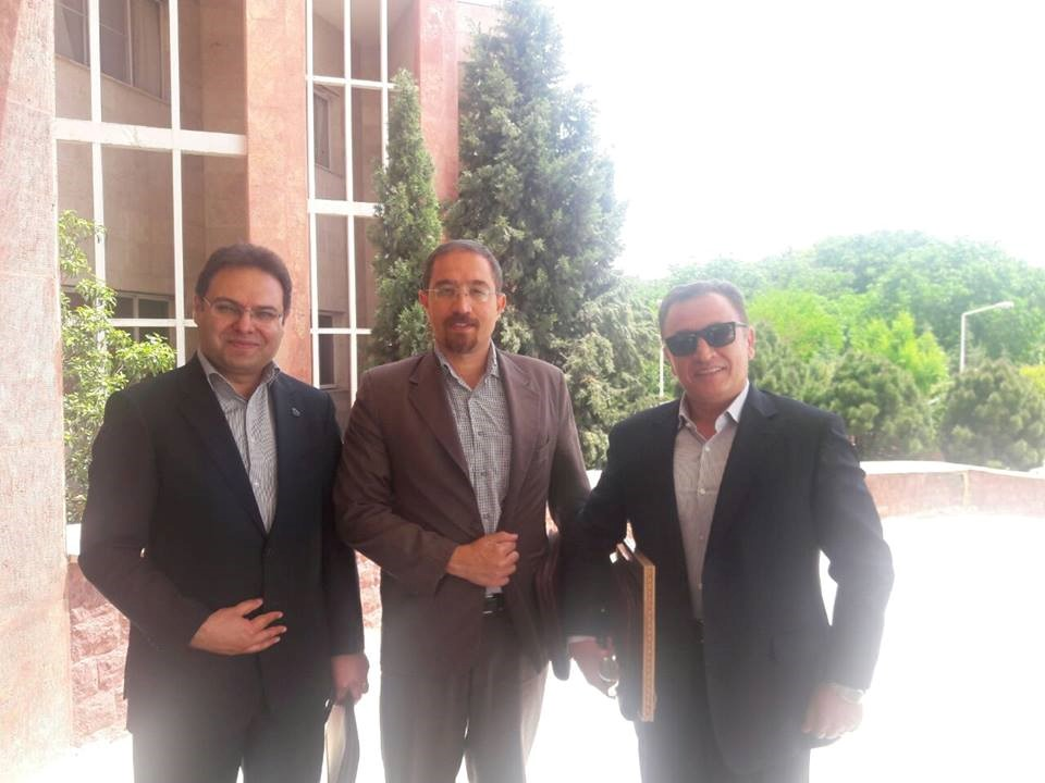 The presence of Mr. Rahimian, CEO, at the first meeting of the technical and executive system of the Alborz province