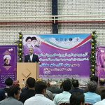 The opening ceremony of the Sports Hall of Martyrs Mehrazin Malard