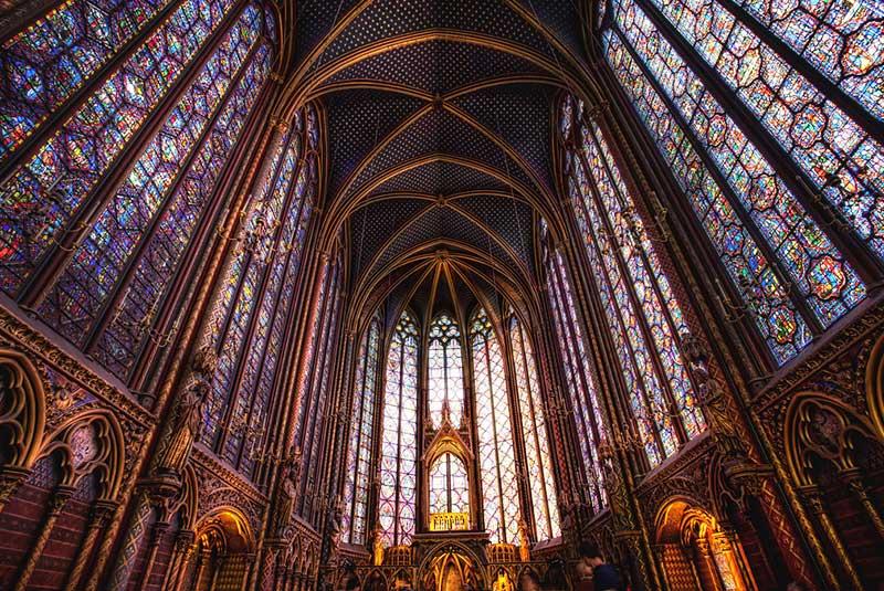 کلیسای سنت شاپل ، پاریس