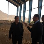 Visit of engineer Rahimian from Sharood Sports Hall Project