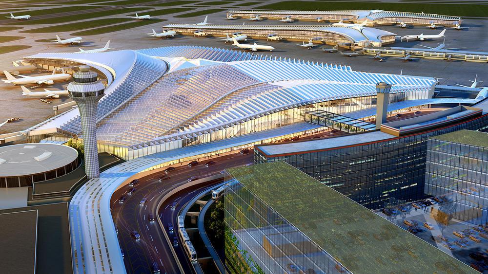 پنج طرح برگزیده فرودگاه بین المللی شیکاگو
