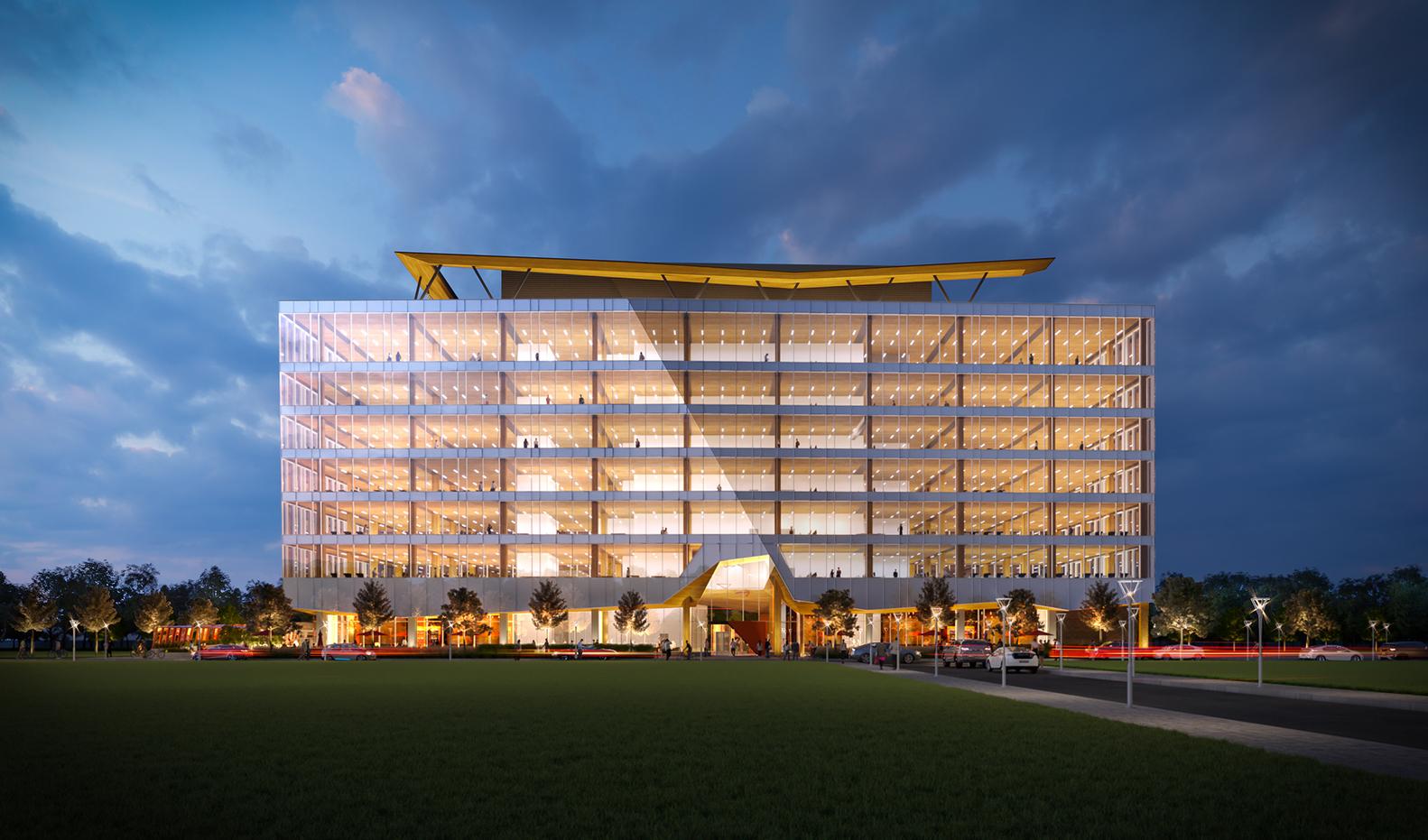 دفتر مرکزی شرکت بی ان سی آماده تبدیل شدن به بلندترین های کانادا