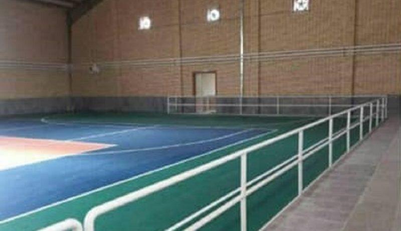 افتتاح پروژه های چمن مصنوعی مهر امام رضا(ع) و سالن ورزشی چند منظوره خاتون آباد پاکدشت