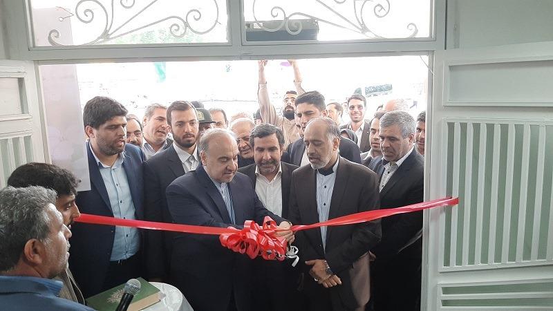 افتتاح سالن ورزشی فیرورق خوی توسط وزیر محترم ورزش و جوانان