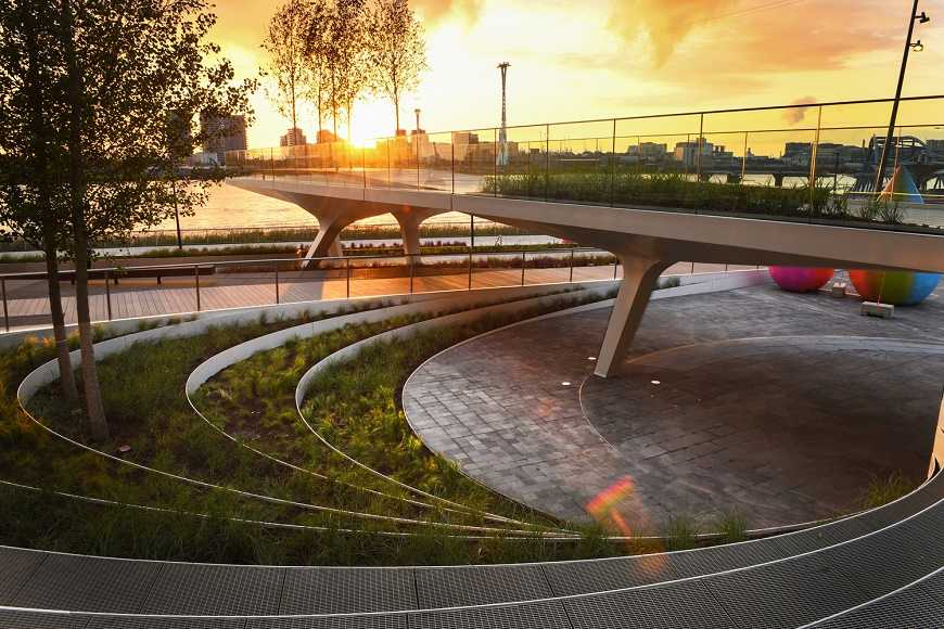 DS+R's New Linear London Park Opens to the Public