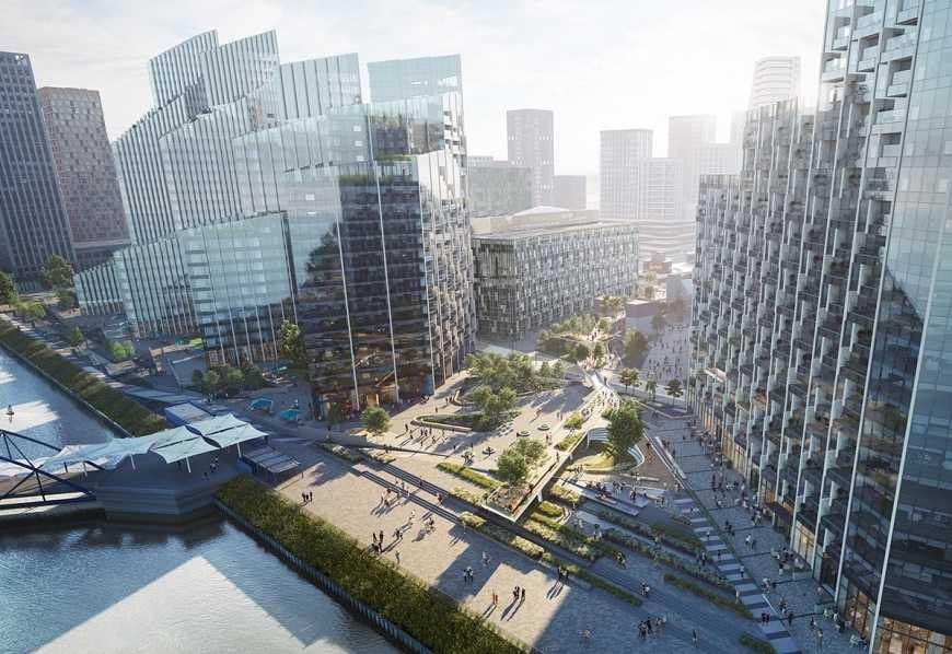 جدید ترین پارک لندن دسی آر درلندن افتتاح شد