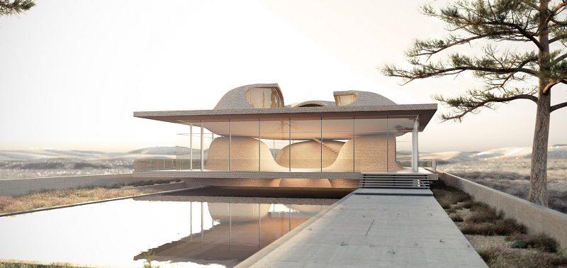 معماری ایرانی چهار طاق یا چارتاق