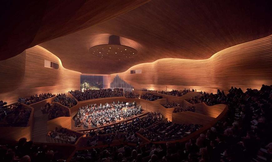 هنینگ لارسن خانه مجلل فرهنگی اوستراوا را در جمهوری چک به نمایش می گذارد