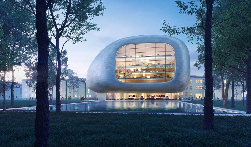 International Design Concert Hall Concert in Astra Province