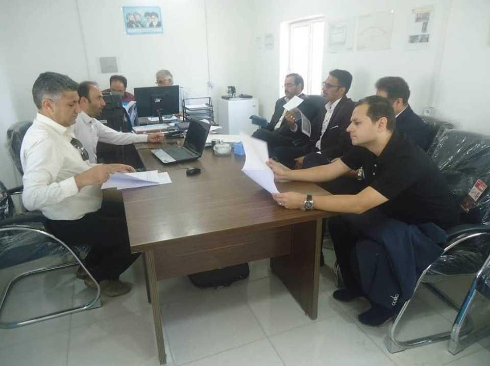 بازدید وزیر محترم ورزش و جوانان از پروژه سالن چند منظوره ورزشی ۶۰۰۰ نفری و سالن دو و میدانی قزوین