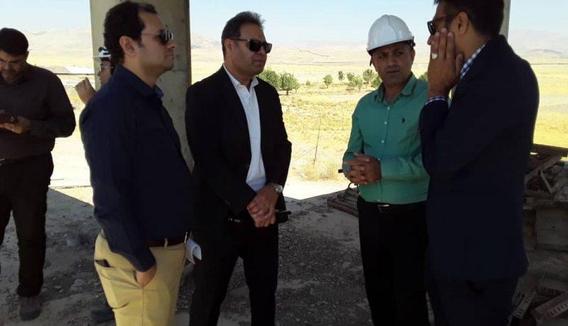 بازدید جناب آقای مهندس کریمی، مدیر عامل شرکت توسعه و نگهداری اماکن ورزشی کشور