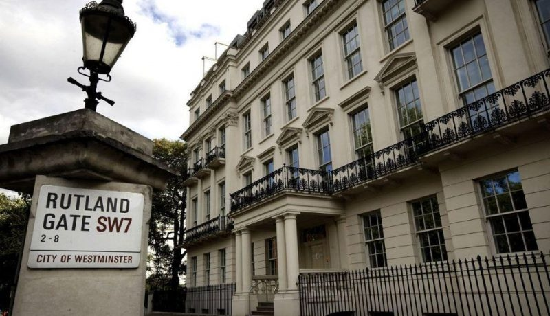 The most expensive house in the world – the Rutland Gate House
