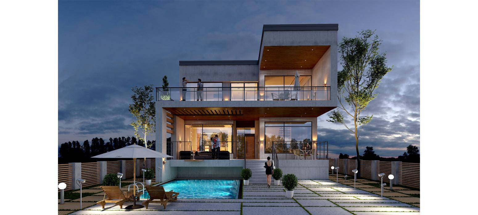 Mr Najafis personal villa