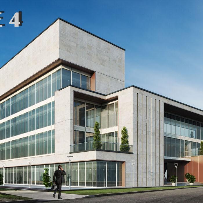 Qom city train office building