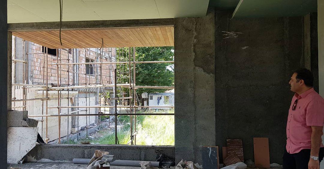 پروژه ویلای شخصی در حال ساخت در شهرک کندلوس سلمان شهر