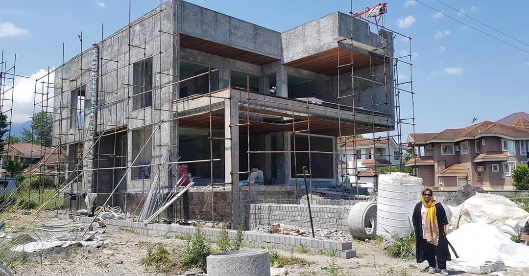Personal villa project under construction in Kendalls town, Salmanshahr