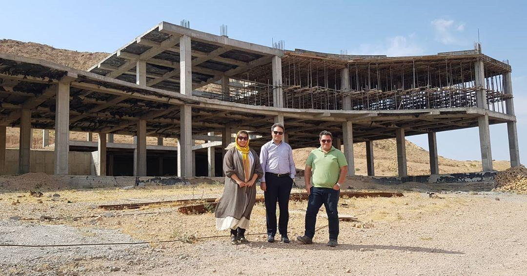 Visiting the project under construction of Ghaem Shahroud Psychiatric Hospital