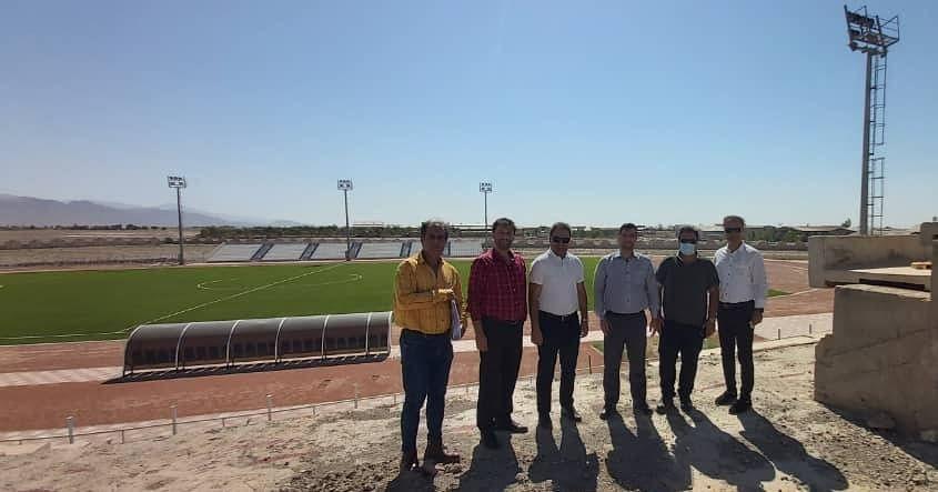 بازدید از استادیوم ۵۰۰۰ نفری گرمسار